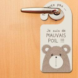 ACCROCHE PORTE PVC MAUVAIS...