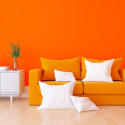 ADHESIF AU METRE ASPECT BRILLANT ORANGE