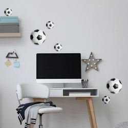 STICKER BALLON DE FOOTBALL