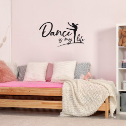 """Stickers """"dance is my life"""""""