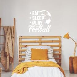 Stickers eat sleep play...