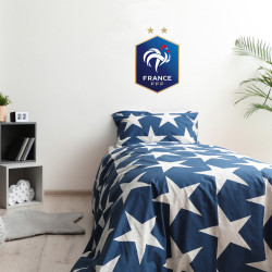 Stickers logo foot étoile