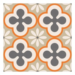 STICKERS CARREAUX DE CIMENT CLOVER (CIMENT0009)