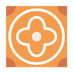 STICKERS CARREAUX DE CIMENT FLOORANGE (CIMENT0032)