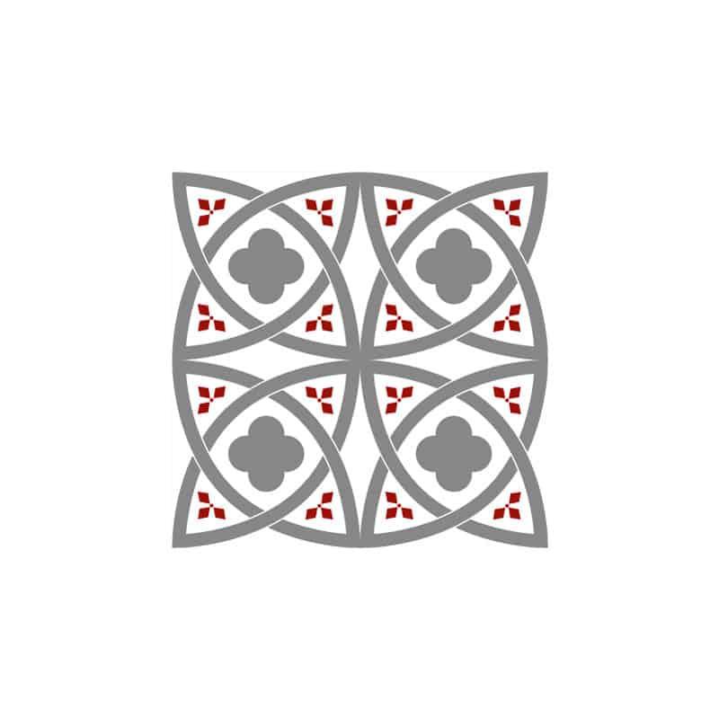 STICKERS CARREAUX DE CIMENT MARGHARED (CIMENT0050)