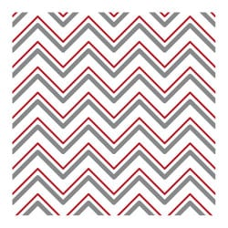 STICKERS CARREAUX DE CIMENT A L'UNITE CHEVRON GREYRED (CIMENT0107)