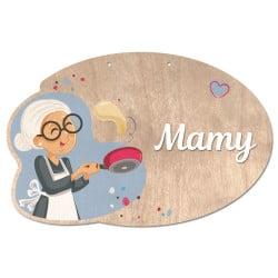Plaque de Porte Mamy -...