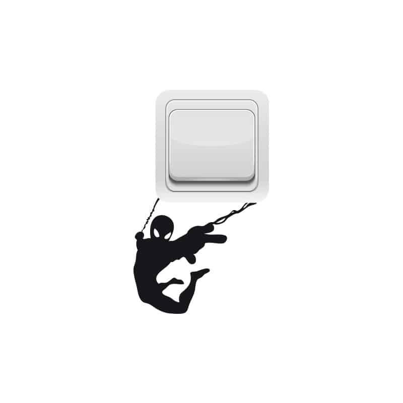 STICKER INTERRUPTEUR SPIDERMAN (INTERR005)
