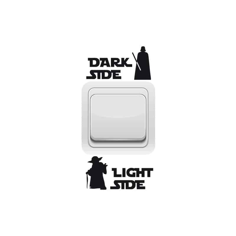 STICKER INTERRUPTEUR DARK SIDE (INTERR006)