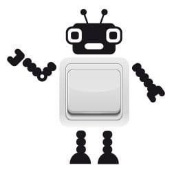 STICKER INTERRUPTEUR ROBOT TOM (INTERR019)