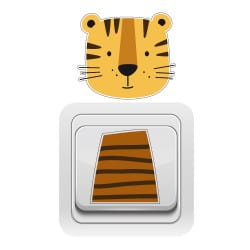 STICKER INTERRUPTEUR TIGRE (INTERR034)