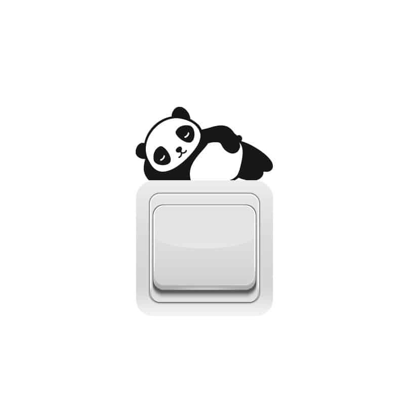 STICKER INTERRUPTEUR PANDA ZEN (INTERR035)