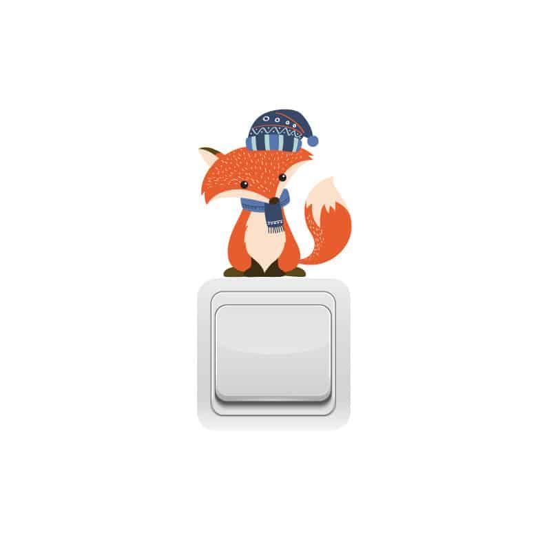 STICKER INTERRUPTEUR FOXY (INTERR043)