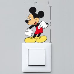 STICKER INTERRUPTEUR MIKEY COULEUR (INTERR045)