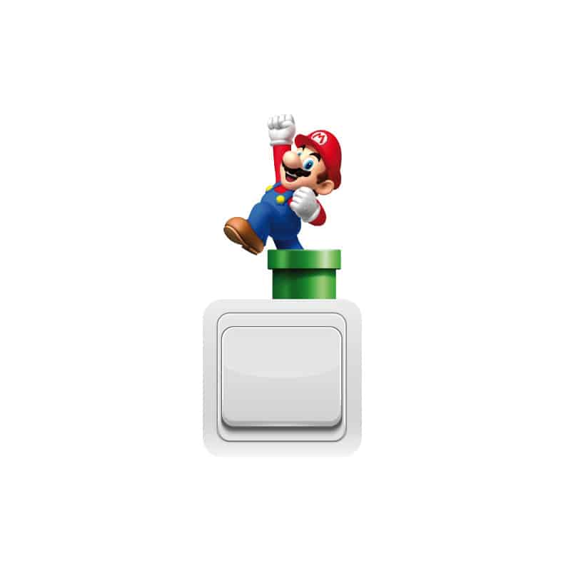STICKER INTERRUPTEUR MARIO TUBE (INTERR050)