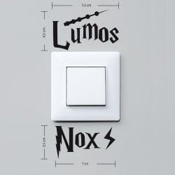 STICKER INTERRUPTEUR LUMOS / NOX (INTERR056)