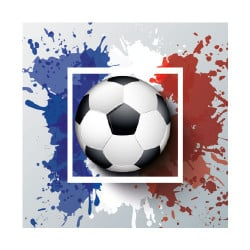 STICKER INTERRUPTEUR BALLON BLEU BLANC ROUGE (INTERR066)