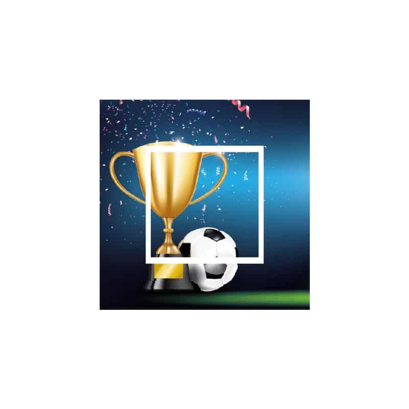 STICKER INTERRUPTEUR COUPE DE FOOTBALL (INTERR068)