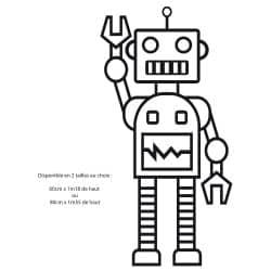 STICKER DE PORTE ROBOT (PORTE010)