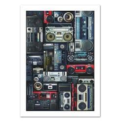 POSTER RADIO K7 VINTAGE (POST0032)