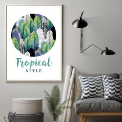 POSTER EXOTIC TROPICAL (POST0057)