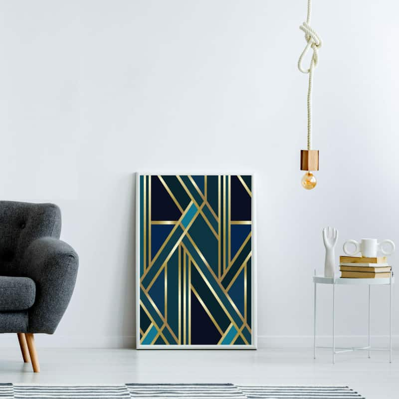 POSTER CHIC GOLD (POST0144)