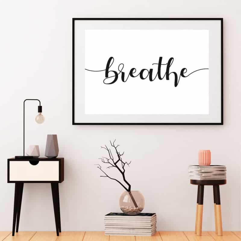 POSTER BREATHE (POST0153)