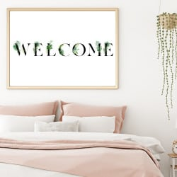 POSTER WELCOME CALLIGRAPHIE (POST0178)