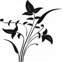 "STICKER PLANTE ""FLORAL"" (B0110)"