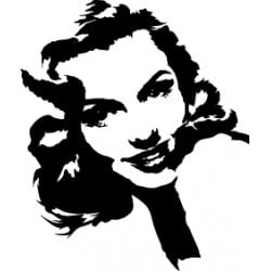 STICKER MARILYN MONROE (D0058)