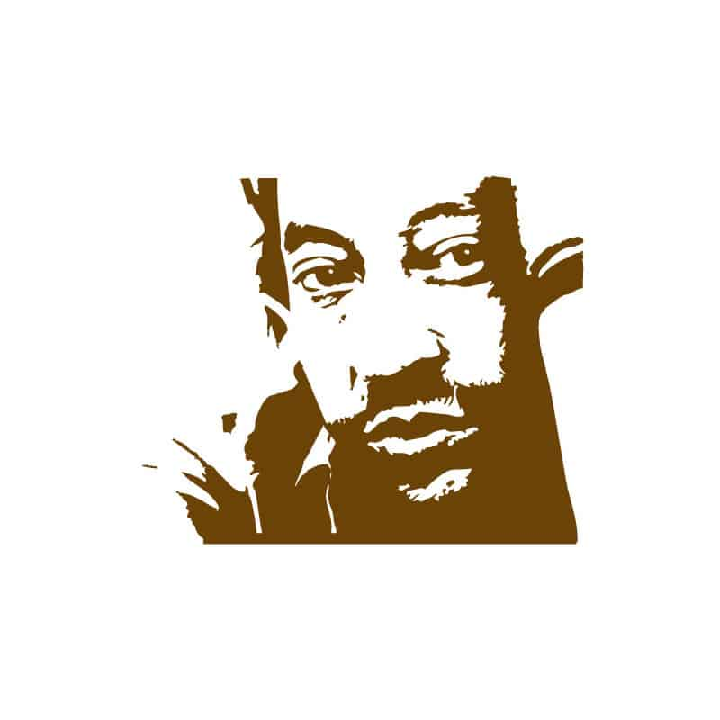 STICKERS SERGE GAINSBOURG (D0091)