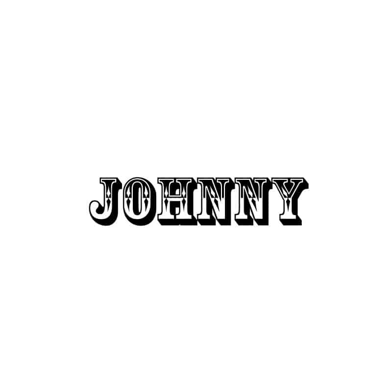STICKERS JOHNNY (F0059)