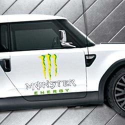STICKERS POUR MOTO MONSTER ENERGY (J0086)