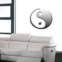 STICKER SYMBOLE CHINOIS YIN YANG (M0032)