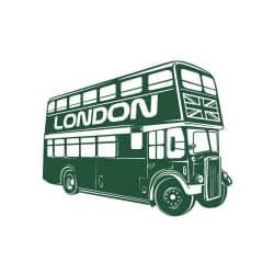 STICKERS BUS LONDONIEN (N0043)