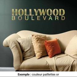STICKER HOLLYWOOD BOULEVARD (TEXT0002)