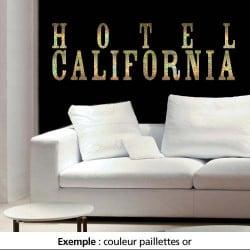 STICKER HOTEL CALIFORNIA (TEXT0009)