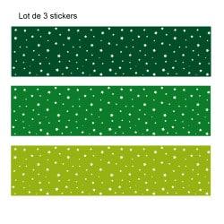 LOT DE 3 STICKERS ETOILES POUR TIROIRS SUR MEUBLES IKEA mALm MIMALM007