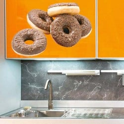 STICKERS ALIMENT DONUTS (A0100)