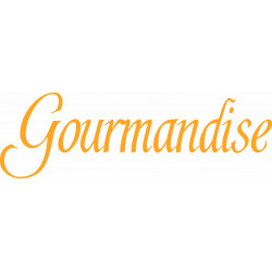 STICKERS GOURMANDISE (A0388)