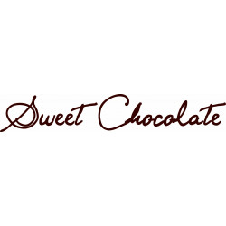 STICKERS DOUCEURS CHOCOLATEES (A0406)