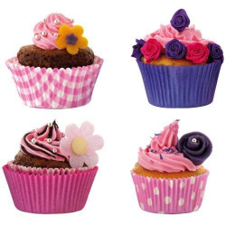 STICKERS CUPCAKES (X4) (A0507)