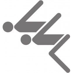 STICKERS PLONGEURS de CUVETTE (ABA0022)