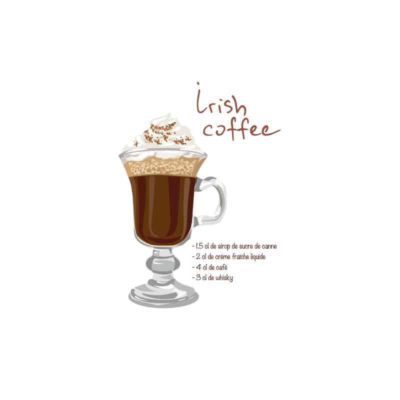 RECETTE COCKTAIL IRISH COFFEE