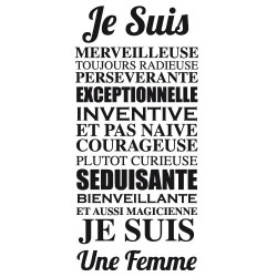 Sticker CITATION FEMME (I0162)