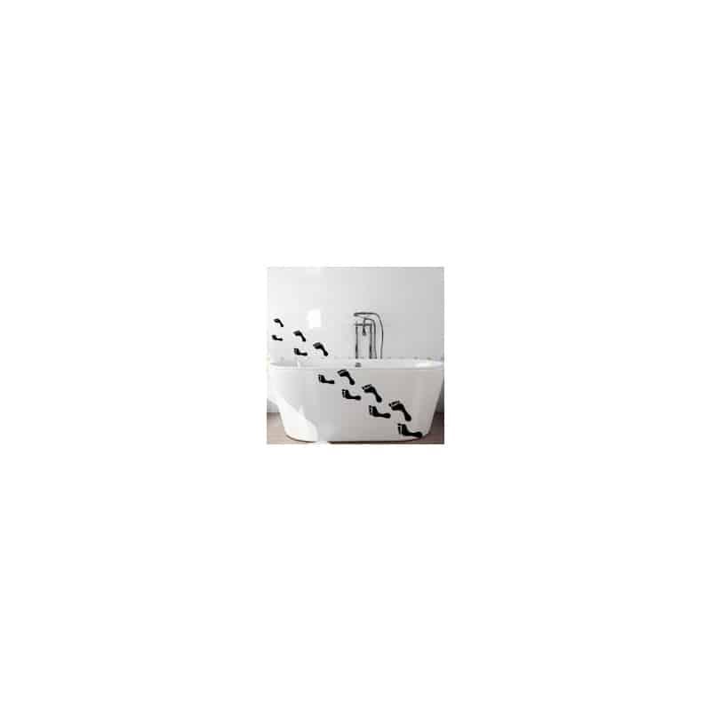 STICKERS PIEDS SALLE DE BAIN POUR BAIGNOIRE (SDB0017)