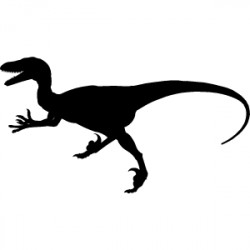STICKER VELOCIRAPTOR (B0030)