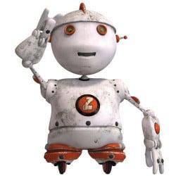 STICKERS ROBOT (B0271)