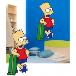STICKER BART SIMPSON (DA0005)