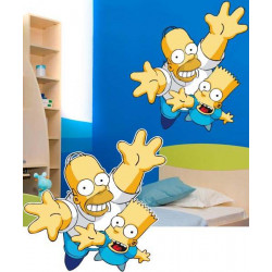 STICKER DE SIMPSON (DA0021)